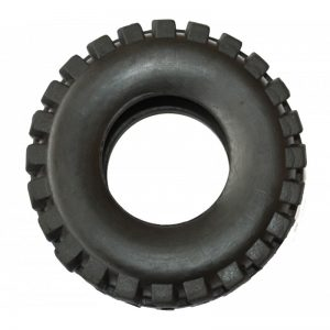 rubber dog tire toy